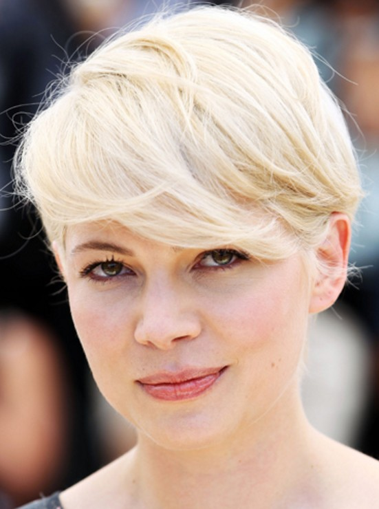 Michelle Williams Kısa Kahkül Saç Modelleri